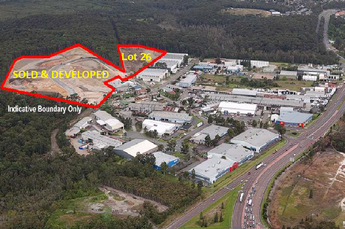 LAST LARGE INDUSTRIAL LOT ON THE EASTERN SIDE OF LAKE MACQUARIE
